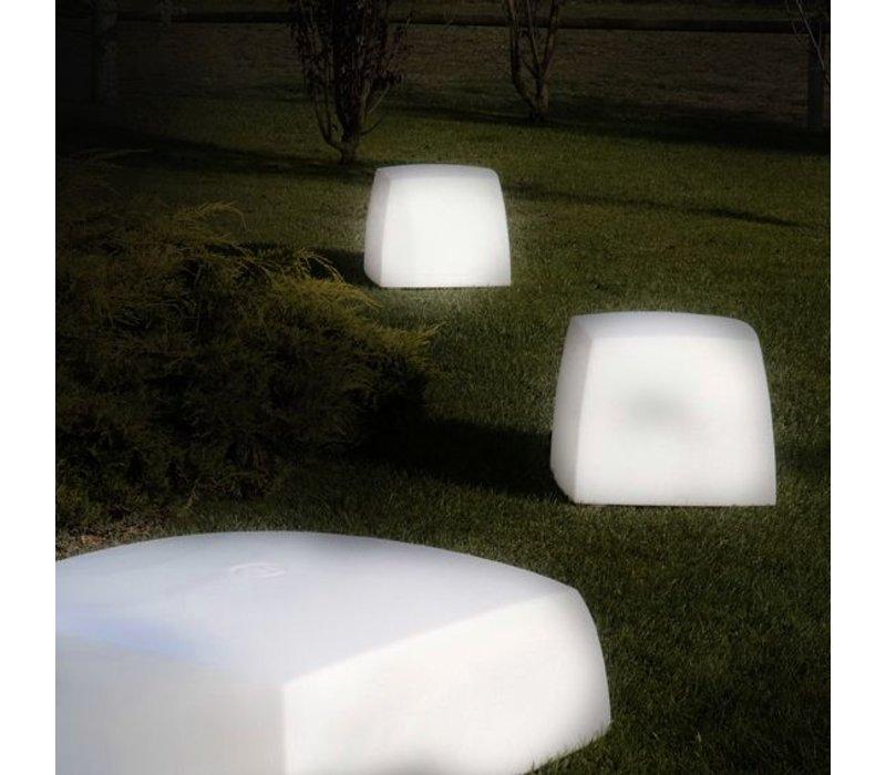 Lite Box Lampadaire/tabouret