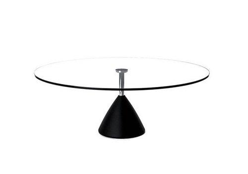 Cascando Cobalt table de salon en verre