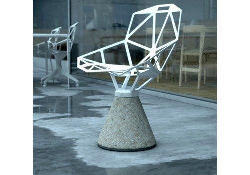 Magis Chair one chaise à socle en ciment