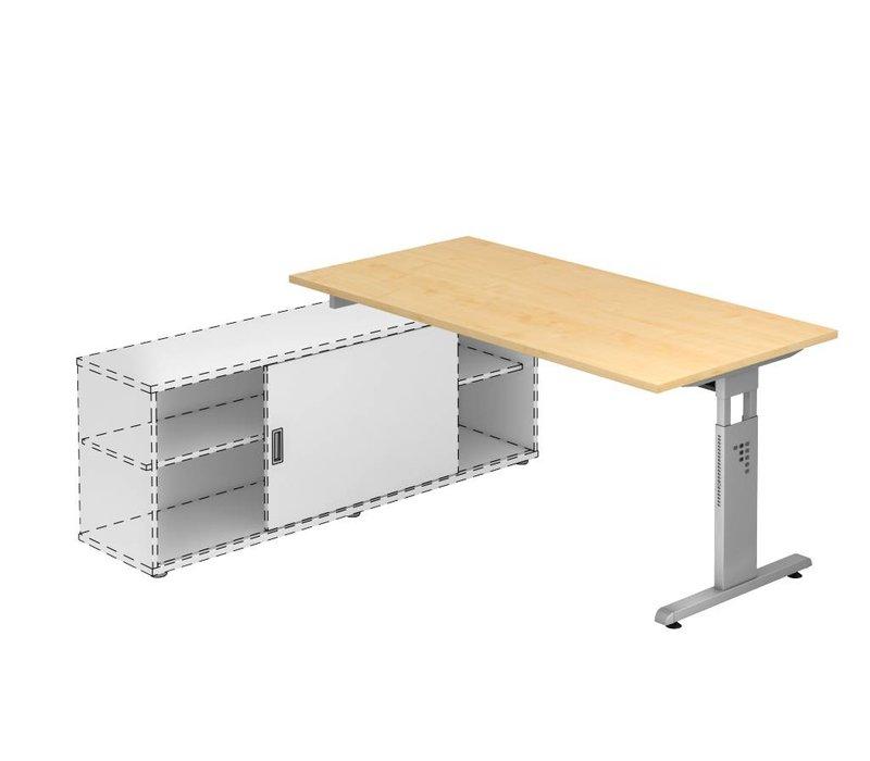 Bureau Officina avec meuble porteur