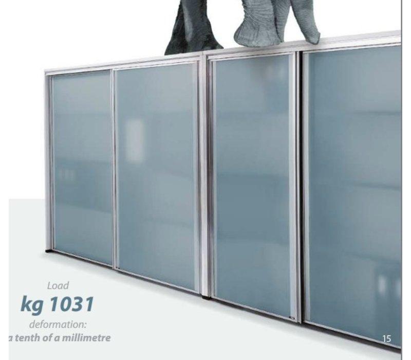 Isotta tweedeurskast hoog breed 200cm