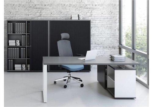 Mdd Ogi-Q bureau avec meuble bas