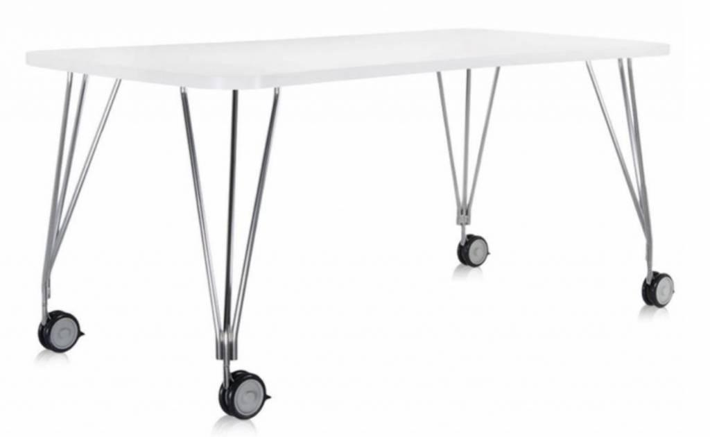 Uitschuifbare Eettafel Op Wielen.Kartell Four Outdoor Tafel
