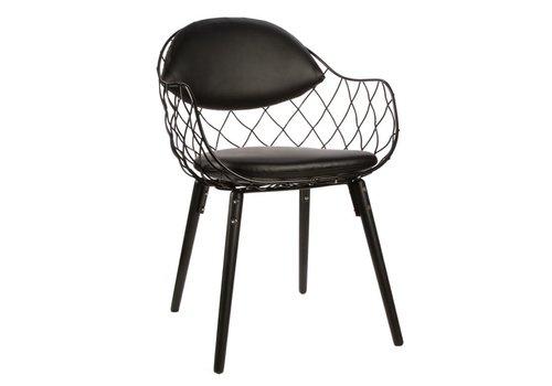 Magis Pina chaise en tissu ou cuir