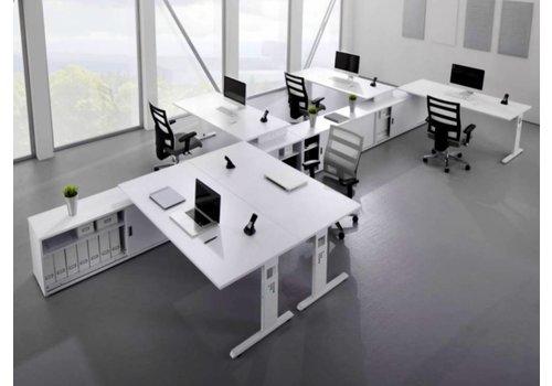 BNO Officina bureau met lowboard