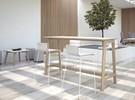 Hoge tafels Nova wood