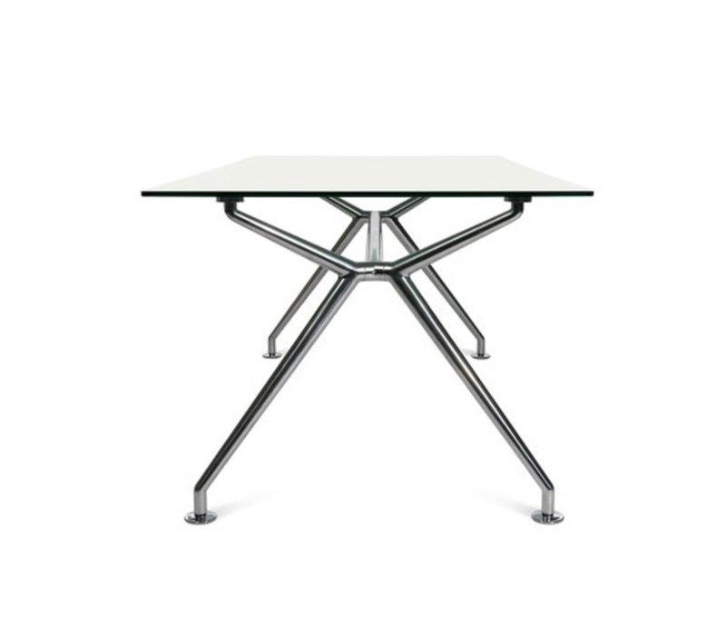 W-table in Melamine