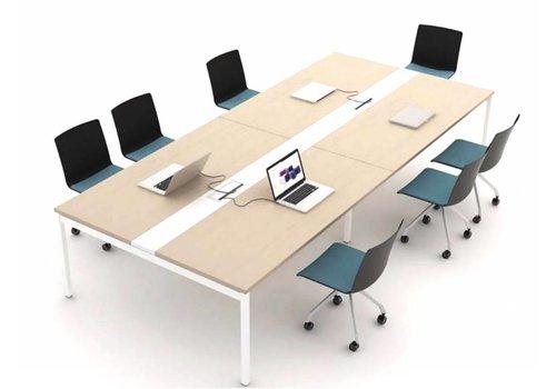 Mdd Ogi Y table de réunion modulaire