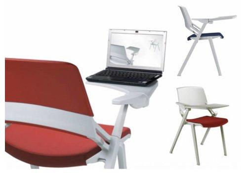 Sitland Green'S chaise avec tablette écritoire