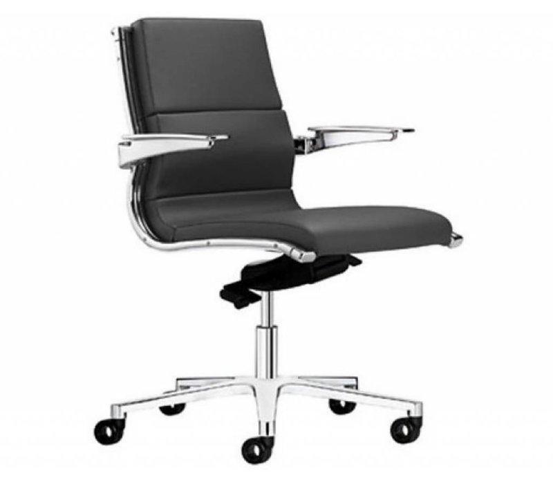 Ledere Bureau Stoel.Sitland Sit It Bureaustoel Leder
