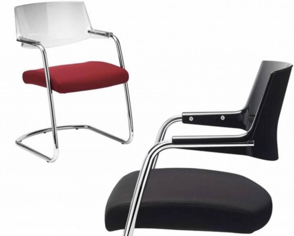 Tissu De La Reunion pass chaise de réunion en cuir ou tissu