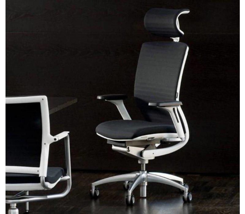 Titan 20 bureaustoel met armleuning en hoofdsteun