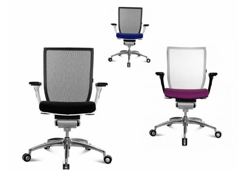Wagner Titan 10 bureaustoel Net met armleuning