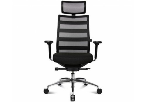 Wagner ErgoMedic 100-1 bureaustoel met hoofdsteun