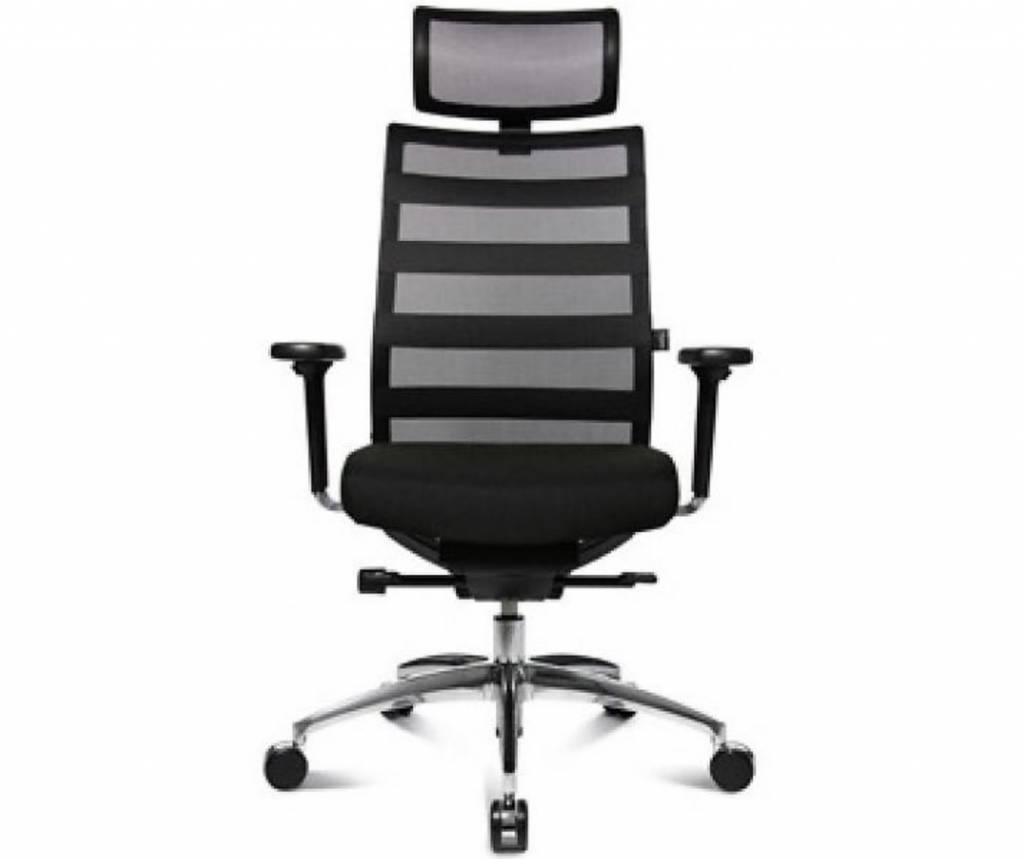 Bureaustoel Met Neksteun.Ergomedic 100 1 Bureaustoel Met Hoofdsteun Brand New Office
