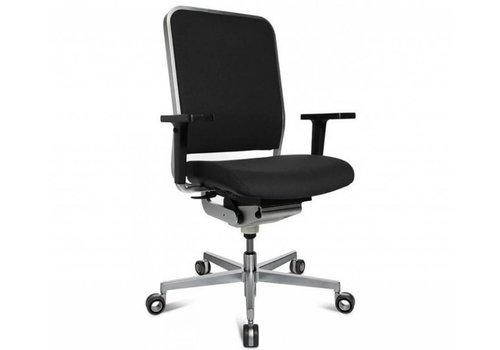 Wagner W-1 Low bureaustoel in premium leder
