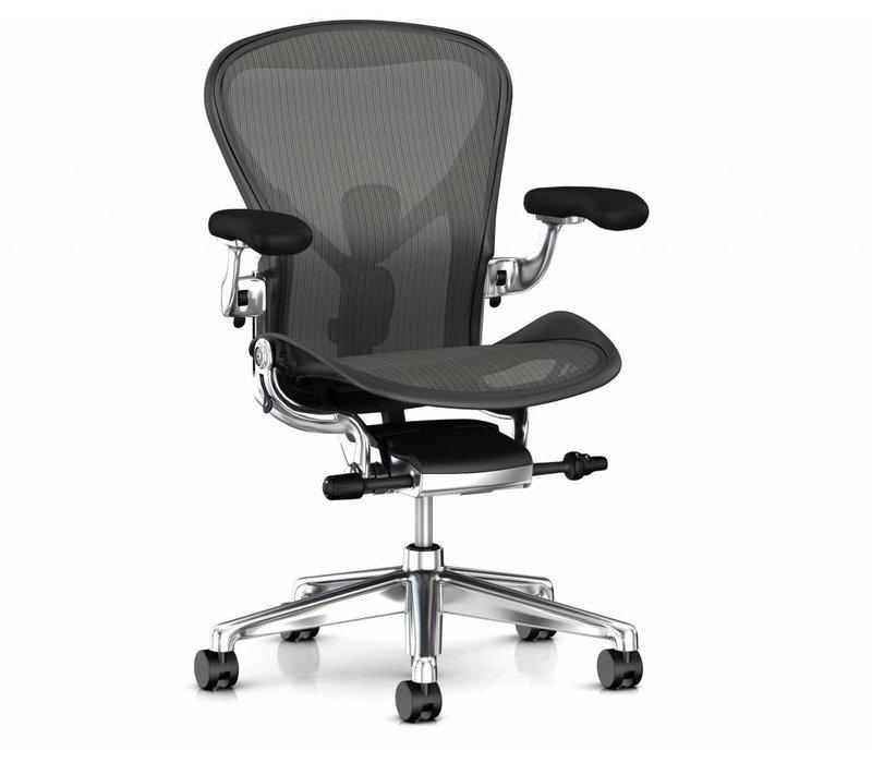 Aeron Deluxe bureaustoel chroom - remastered