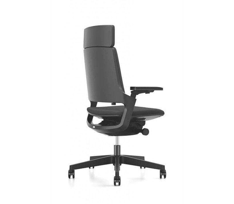 MOVYis bureaustoel zwart