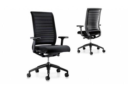 Interstuhl Hero fauteuil de bureau noir