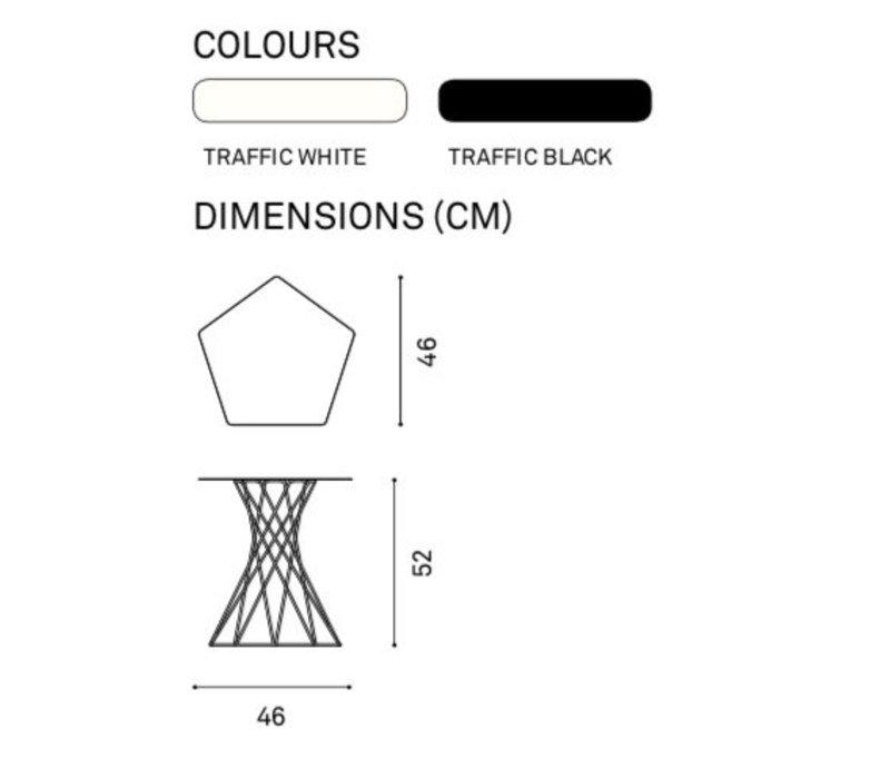 Basket bijzettafel
