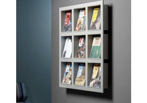 Cascando Frame wandgemonteerde display