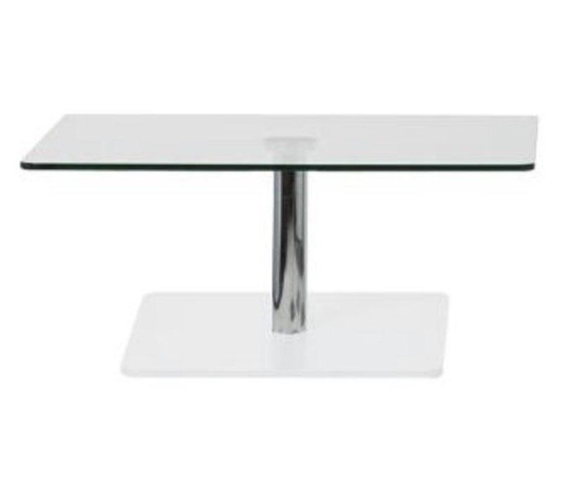 Flow table de salon en verre