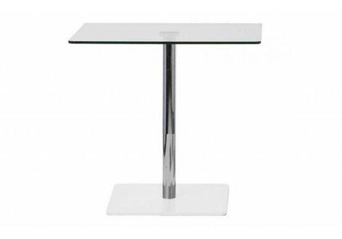 Cascando Flow table à manger en verre