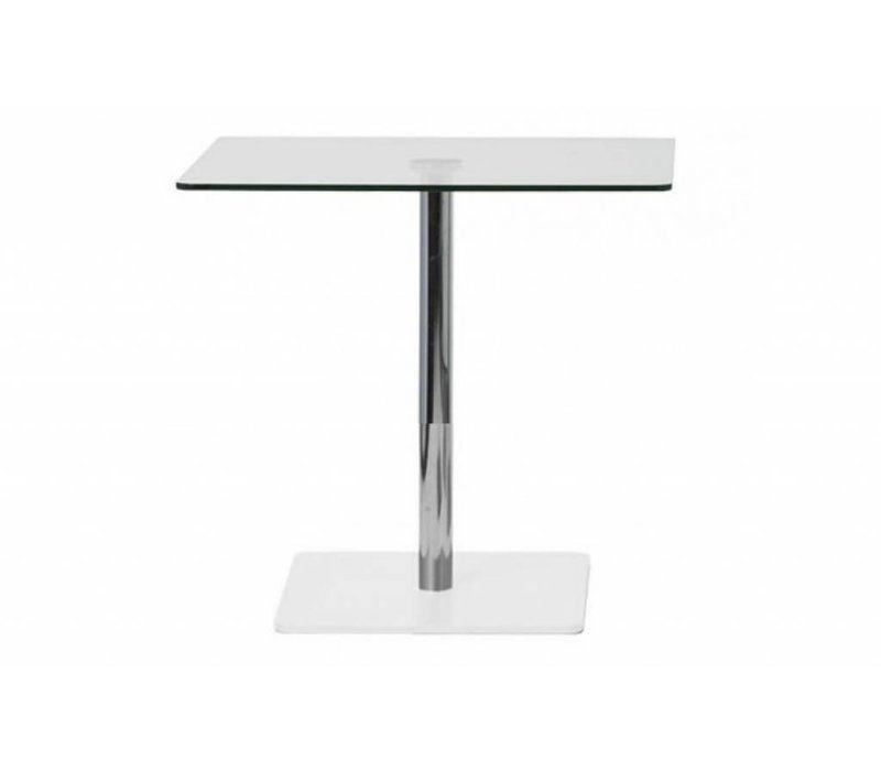 Flow table à manger en verre