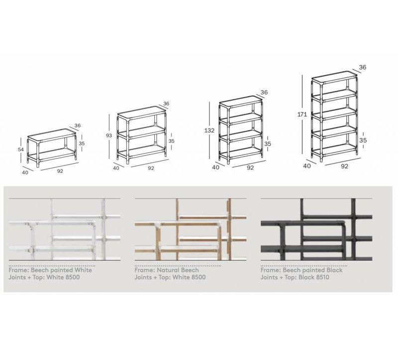Steelwood Shelving houten rekken