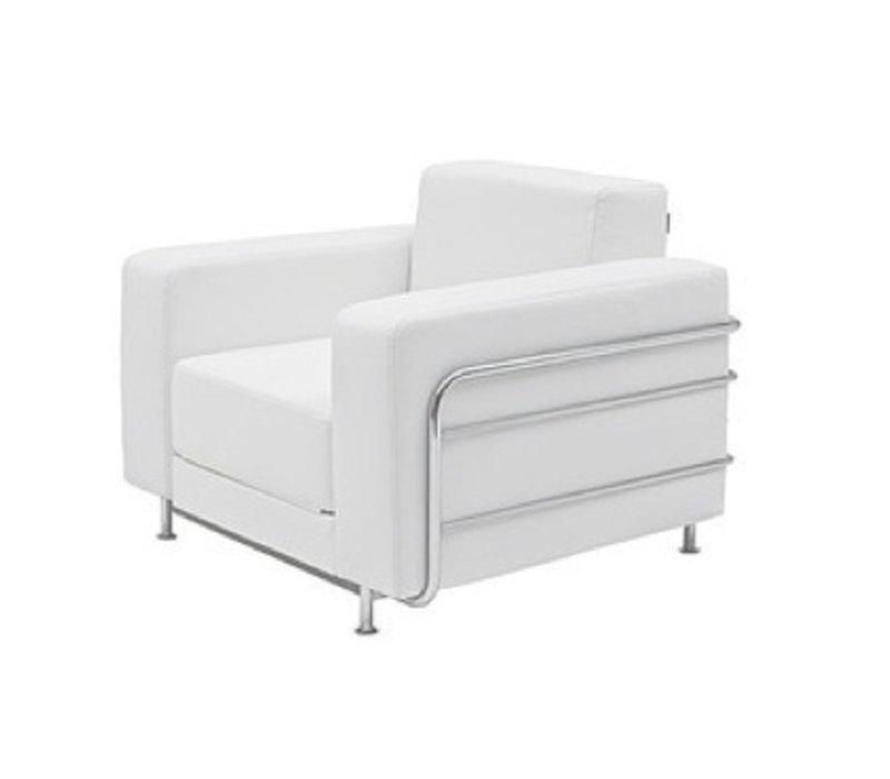 Silver fauteuil - slaapbank