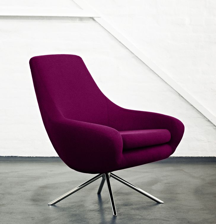 Moderne Lounge Stoel.Noomi Lounge Stoel Fauteuil Brand New Office