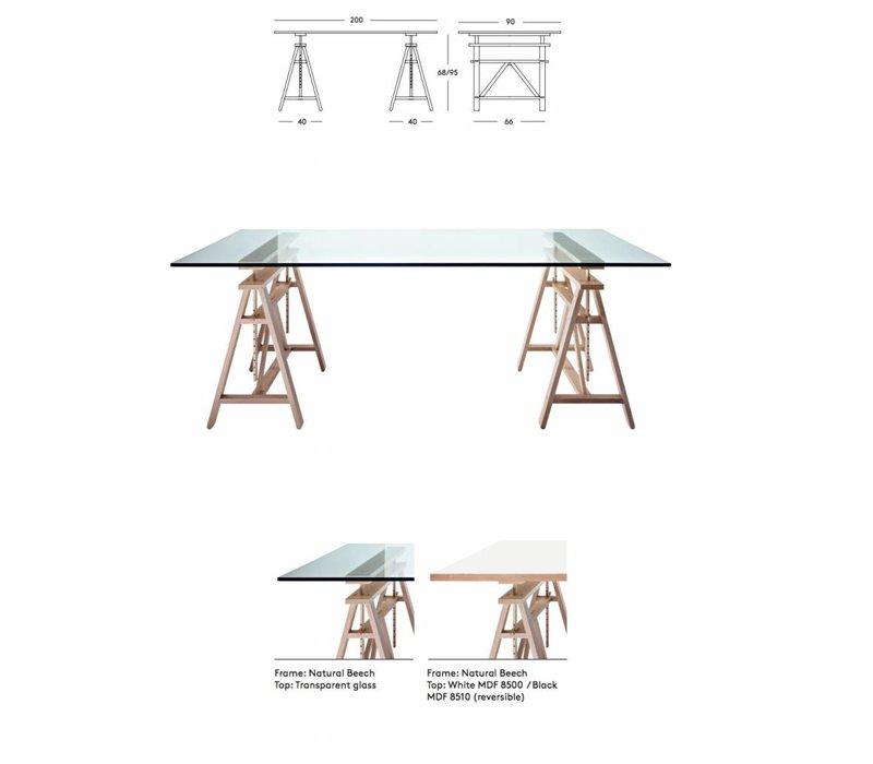 Teatro tafel bureautafel