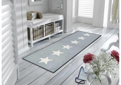 Kleentex Stars grey voetmat