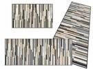 Mikado stripes nature voetmat