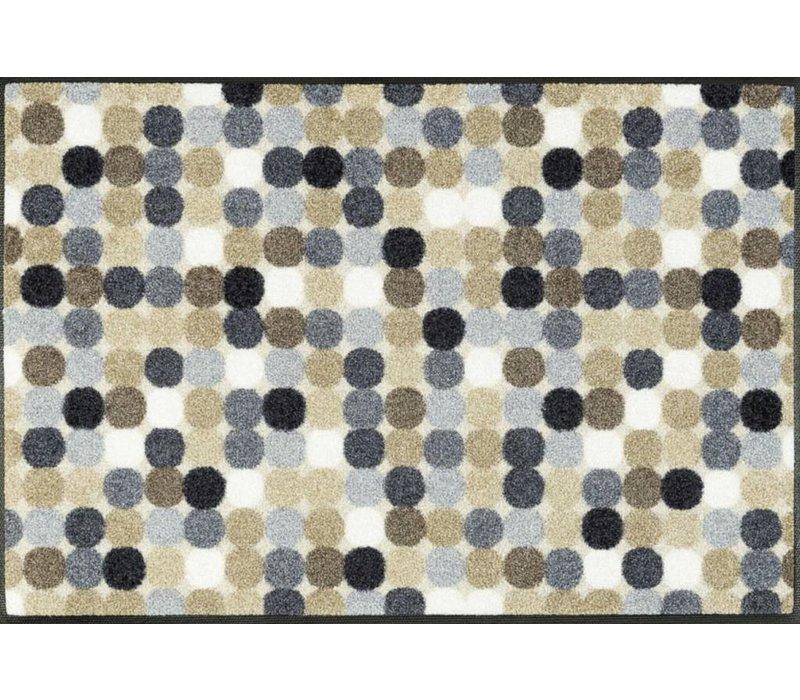 Mikado Dots nature voetmat