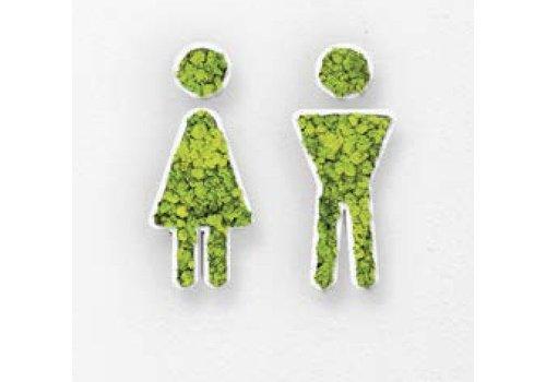 GreenOffice Pictogramme en mousse - Toilets
