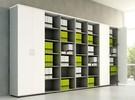 Mdd Basic Open kast hoog 218cm - Archiefkast - Bibliotheek