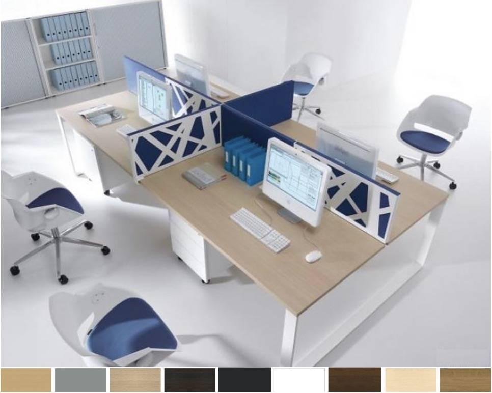 Ogi q bureau îlot mobilier de design brand new office