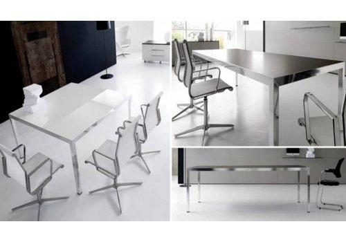 IVM Fly table de réunion en verre ou bois