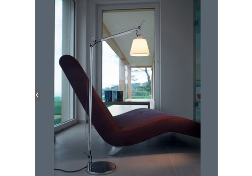 Artemide Tolomeo lettura lampadaire basculante