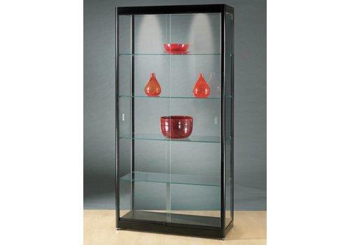 BNO Basic glazen vitrine  200h x 100b cm
