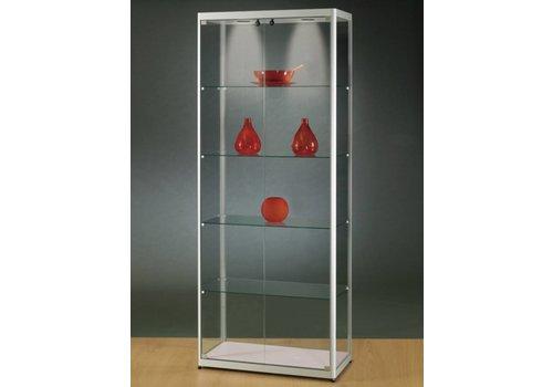 BNO Basic vitrine en verre 200h x 80l cm