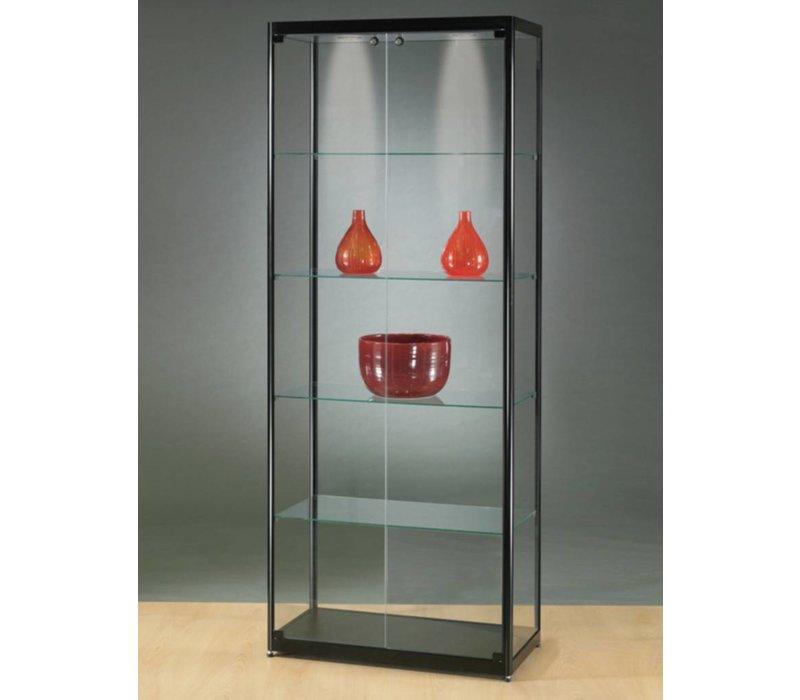 Basic vitrine en verre 200h x 80l cm
