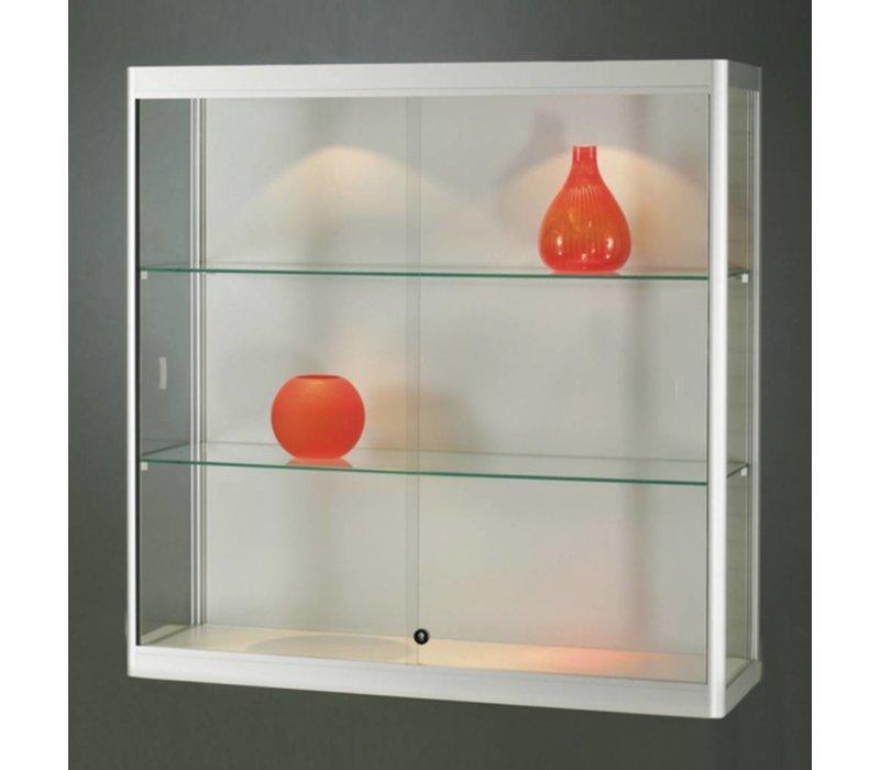 Basic wandvitrine glas