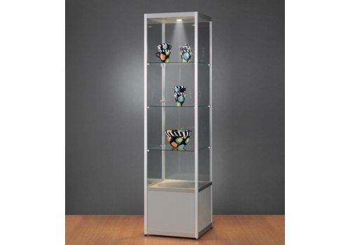 BNO Basic vitrine glas met onderkast