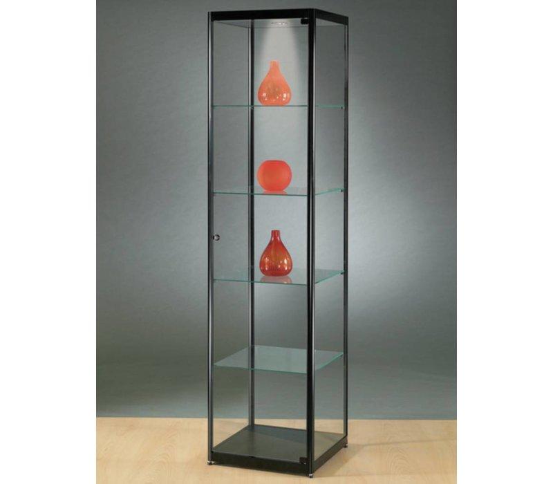 Basic vitrine en verre 200h x 50l cm