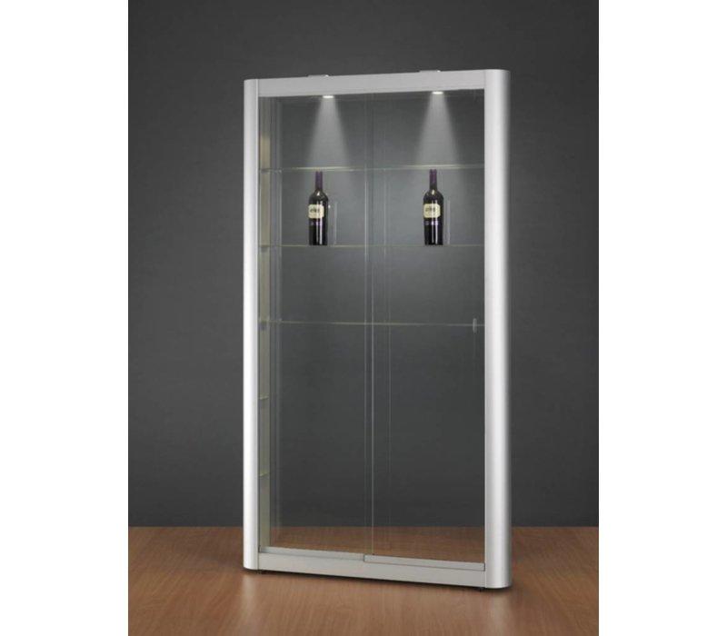 Basic vitrine en verre Tech