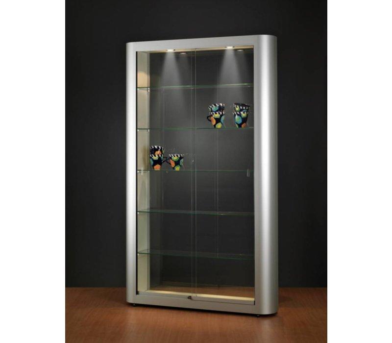 Basic Tech glazen vitrine