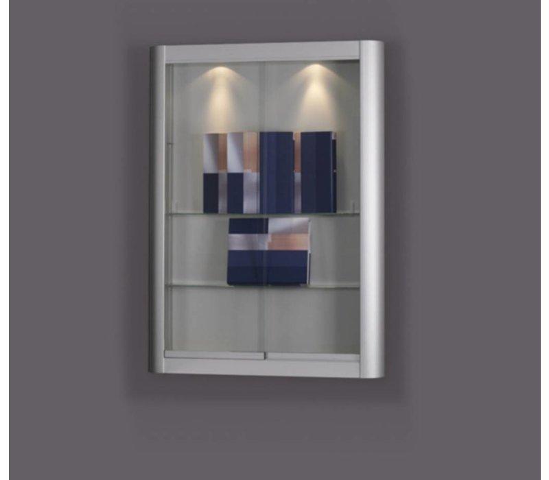 Basic vitrine murale en verre Tech