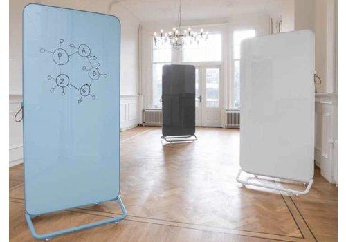 Smit Visual Chameleon tableau blanc mobile en verre